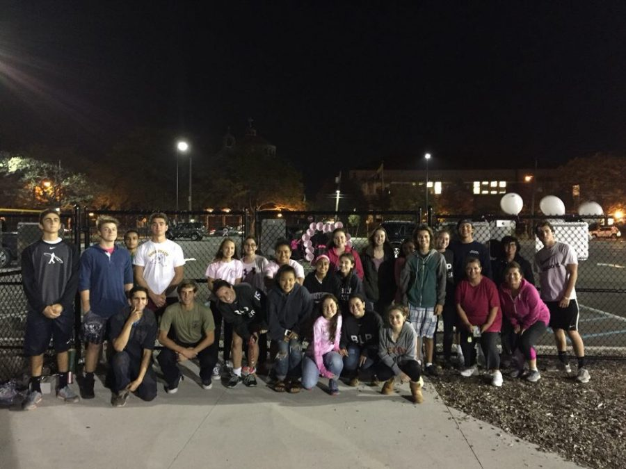 Student Council Sponsored Breast Cancer Walk 2016