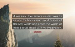 Alternate Text Not Supplied for 111981-Ray-Bradbury-Quote-A-reason-I-became-a-writer-was-to-escape-the.