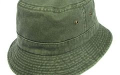 Alternate Text Not Supplied for vhs-cotton-bucket-hat-olive.